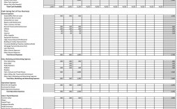 006 Sensational Monthly Busines Expense Template Example  Sheet Excel Pdf