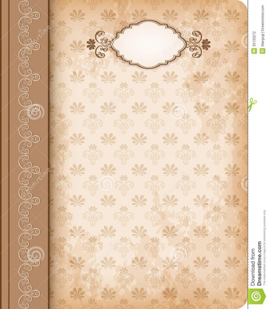 006 Sensational Old Book Cover Template Picture  Free Word Fashioned
