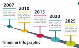 006 Sensational Timeline Infographic Template Powerpoint Download Idea  Free