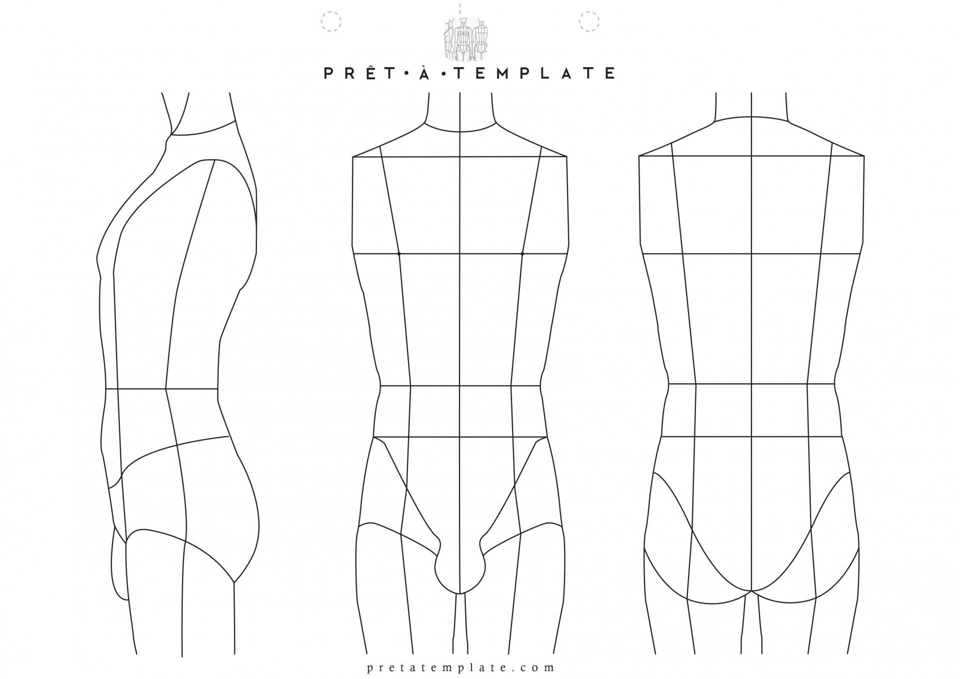 Fashion Design Template To Print Addictionary