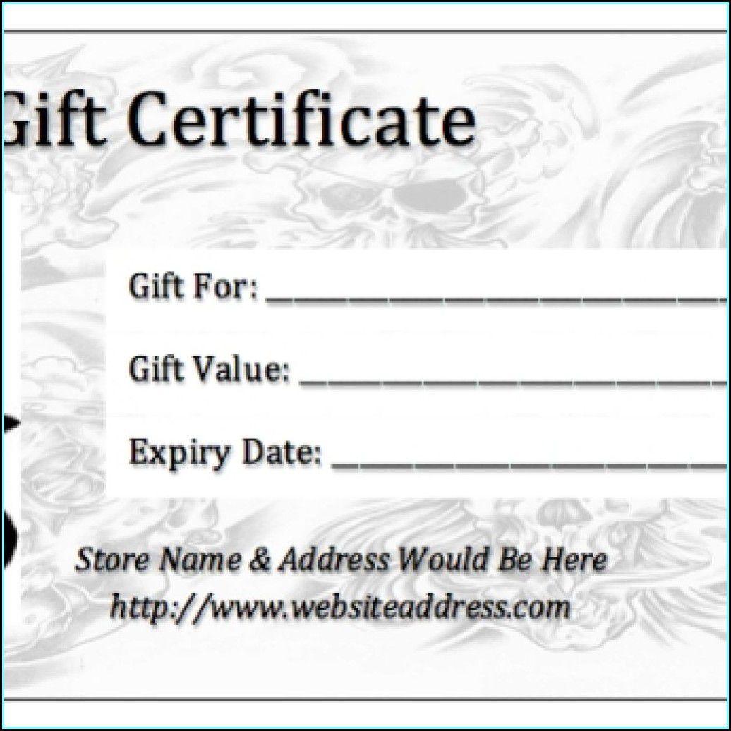 006 Shocking Gift Certificate Template Pdf Example  Massage Christma PrintableFull