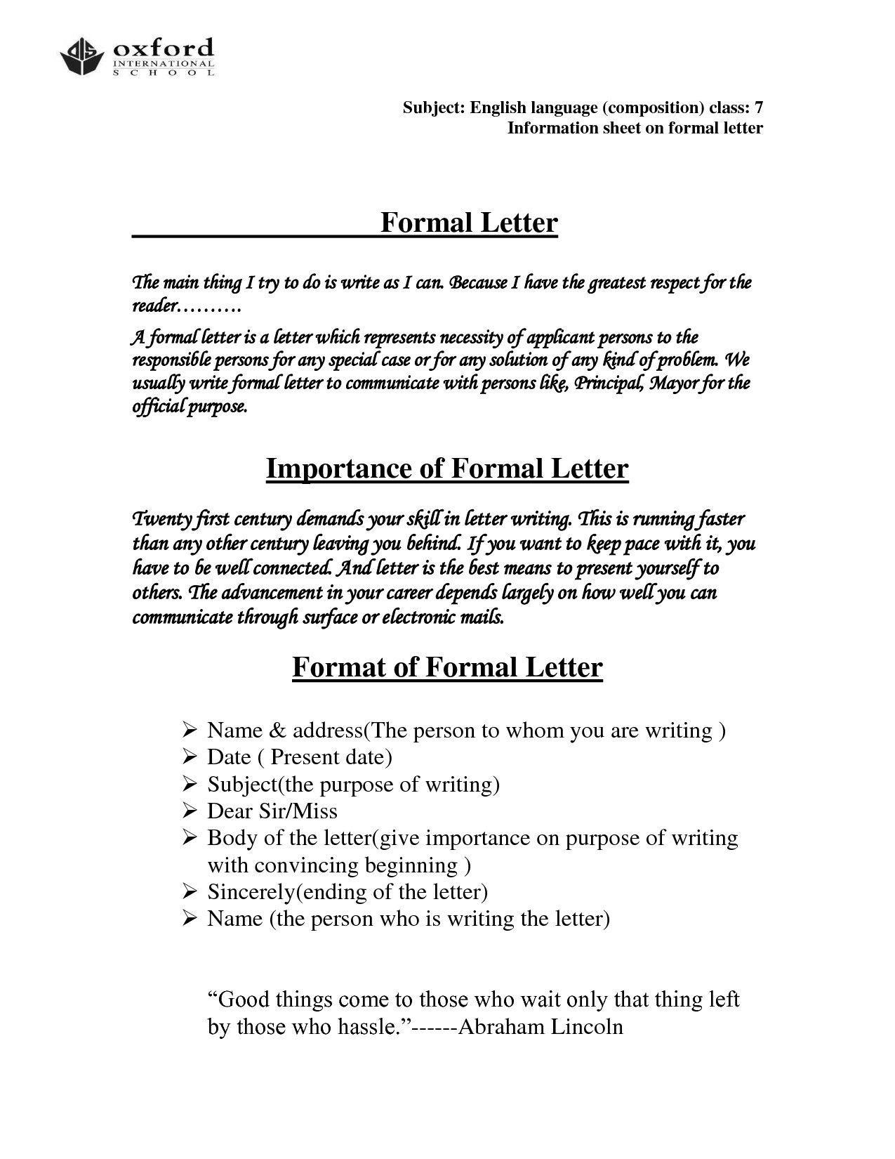 006 Shocking Hindi Letter Writing Format Pdf Free Download Inspiration Full