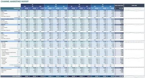 006 Shocking Line Item Budget Template Excel High Resolution 480