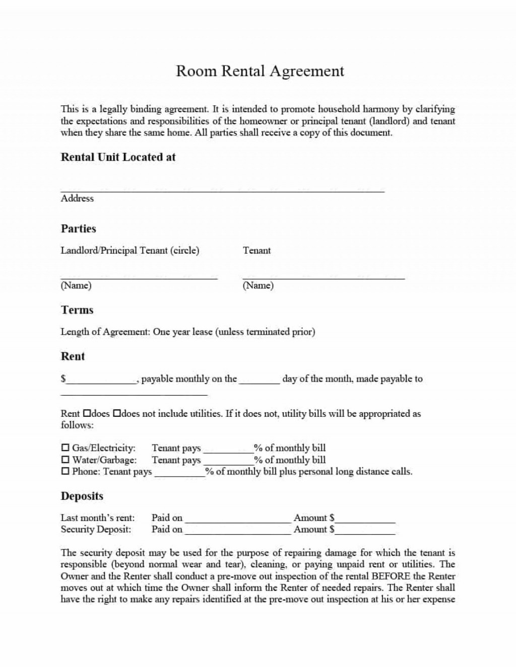 006 Shocking Room Rent Agreement Format In English Pdf Picture Large