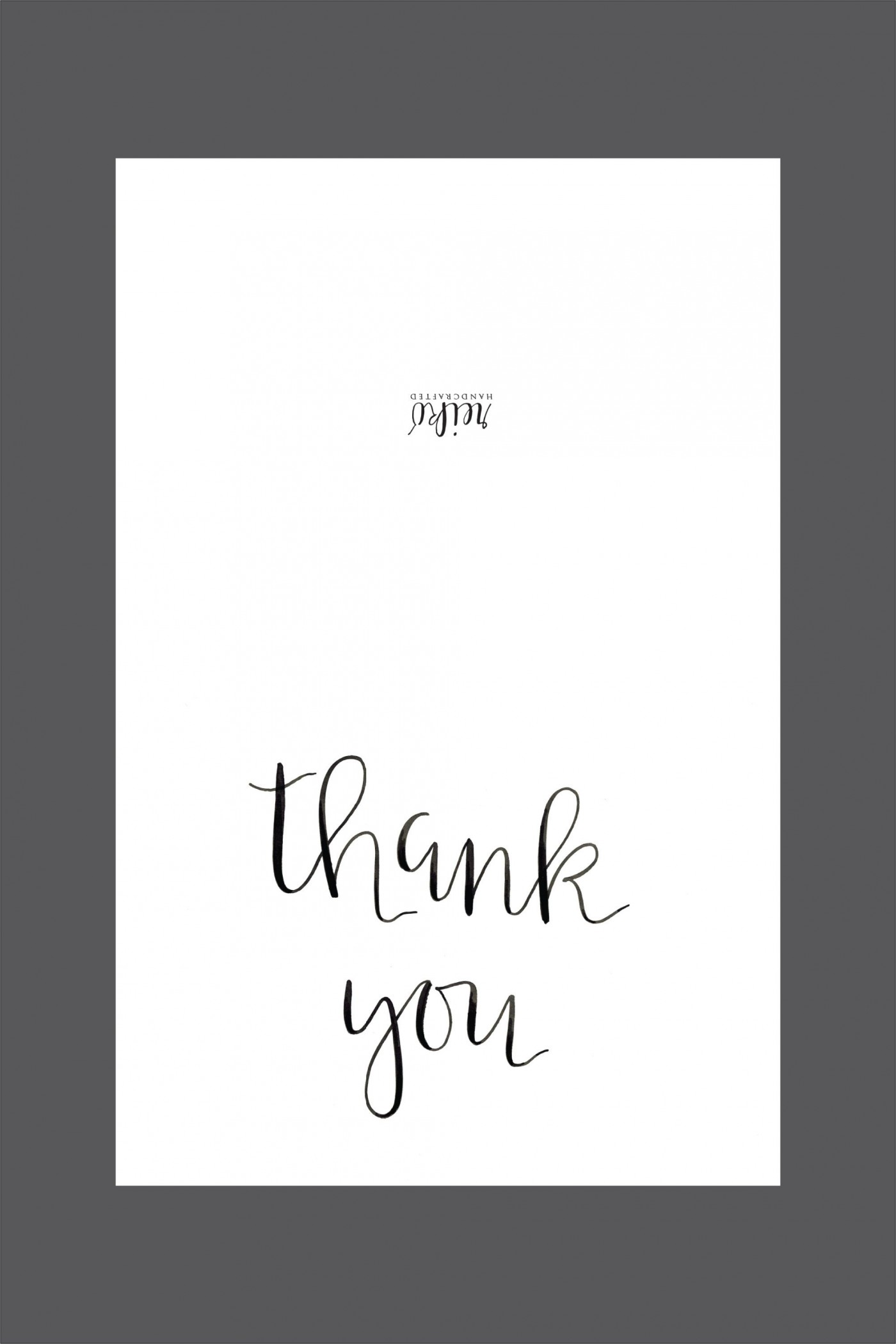 006 Shocking Thank You Note Template Free Printable Design 1400