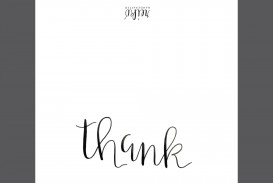 006 Shocking Thank You Note Template Free Printable Design