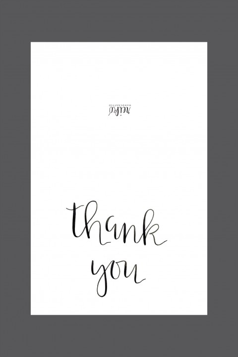 006 Shocking Thank You Note Template Free Printable Design 480