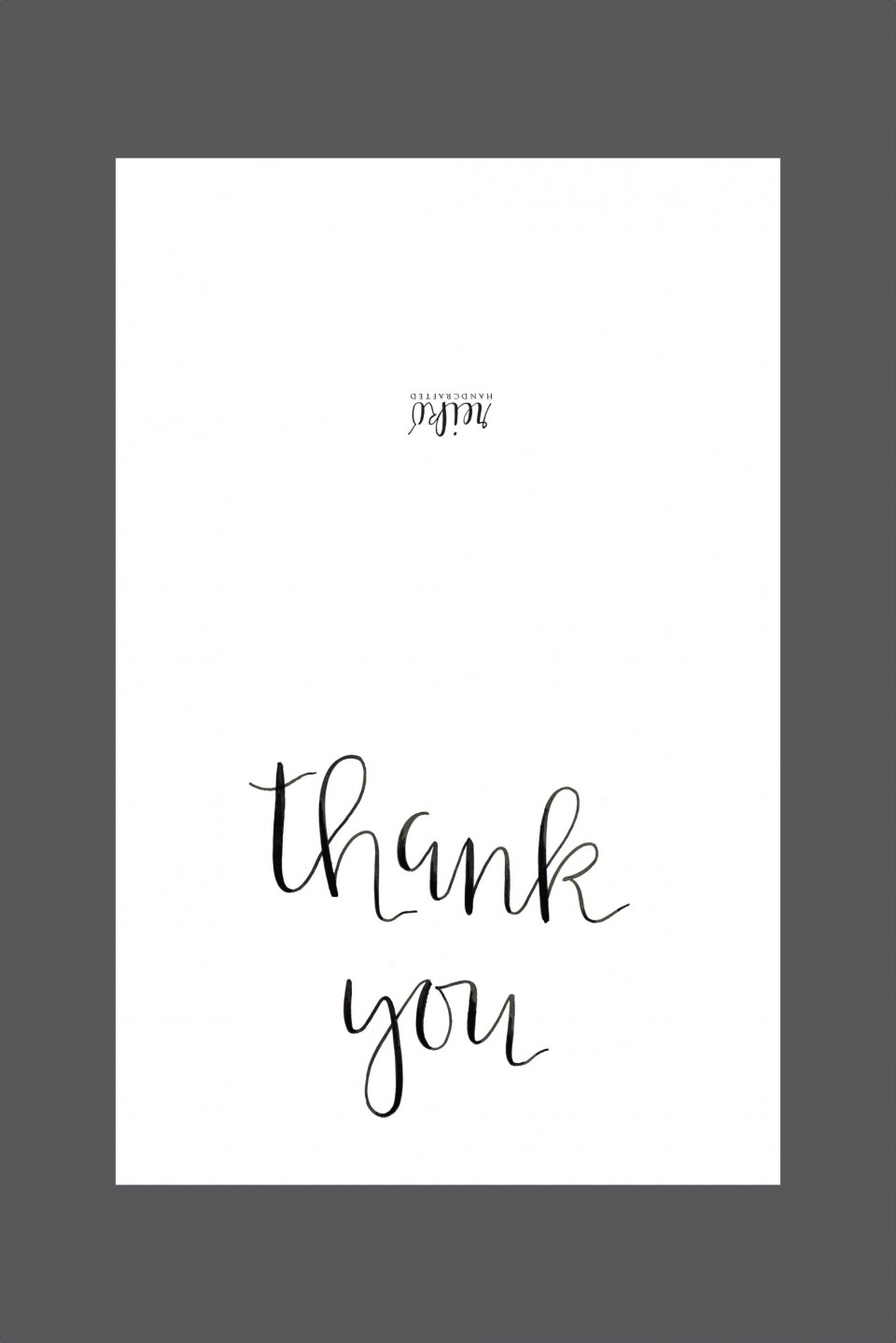 006 Shocking Thank You Note Template Free Printable Design 960