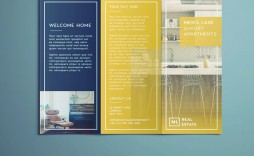 006 Shocking Tri Fold Brochure Indesign Template Idea  A4 Adobe Download