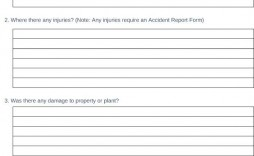 006 Shocking Workplace Incident Report Form Nsw Idea  Template