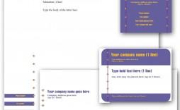006 Simple Busines Postcard Template Microsoft Word Sample