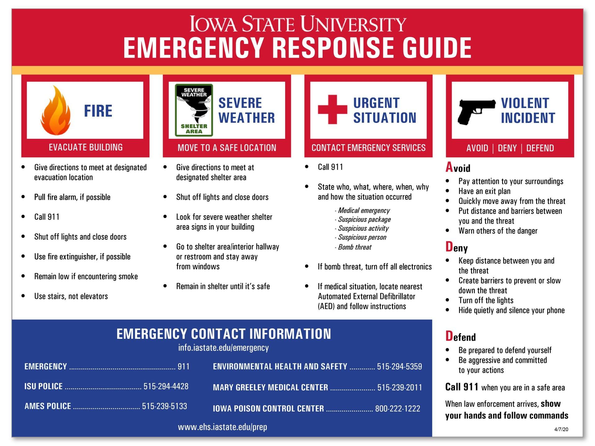 006 Simple Emergency Operation Plan Template High Resolution  For Churche Fema Basic1920