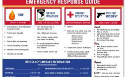 006 Simple Emergency Operation Plan Template High Resolution  For Churche Fema Basic