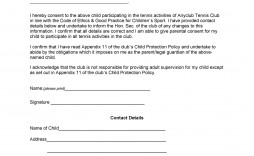 006 Simple Free Child Medical Consent Form Template Example  Pdf