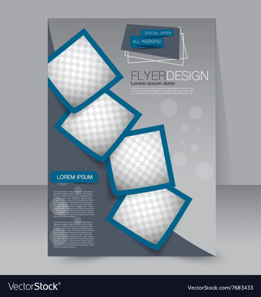006 Simple Free Editable Flyer Template Image  Busines Fundraising868