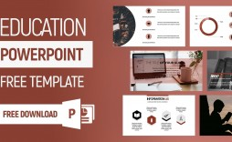 006 Simple Free Education Powerpoint Template Highest Quality  Templates Physical Download Downloadable For Teacher Design