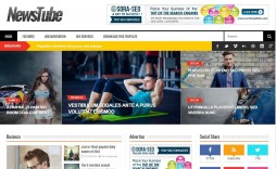 006 Simple Free Responsive Blogger Template With Slider Photo