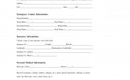 006 Simple Medical Release Form Template Example  Free Consent Uk For Minor