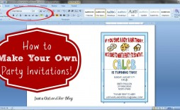 006 Simple Microsoft Word 2020 Birthday Invitation Template Inspiration