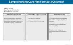 006 Simple Nursing Care Plan Template High Def  Veterinary Ability Model Free Printable