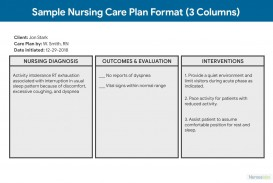 006 Simple Nursing Care Plan Template High Def  Free Pdf Download