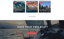 006 Simple One Page Website Template Free Download Html5 High Def  Parallax
