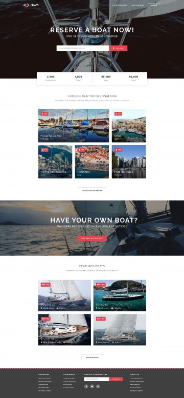 006 Simple One Page Website Template Free Download Html5 High Def  Parallax360