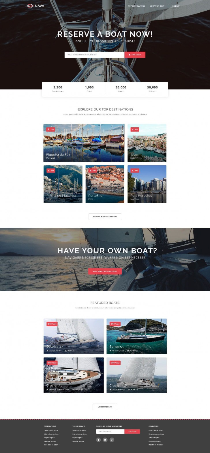 006 Simple One Page Website Template Free Download Html5 High Def  Parallax728