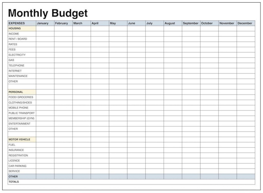 006 Simple Personal Financial Template Excel High Definition  Statement Budget India Expense ReportLarge