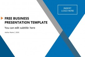 006 Simple Ppt Slide Design Template Free Download Concept  Best Executive Summary