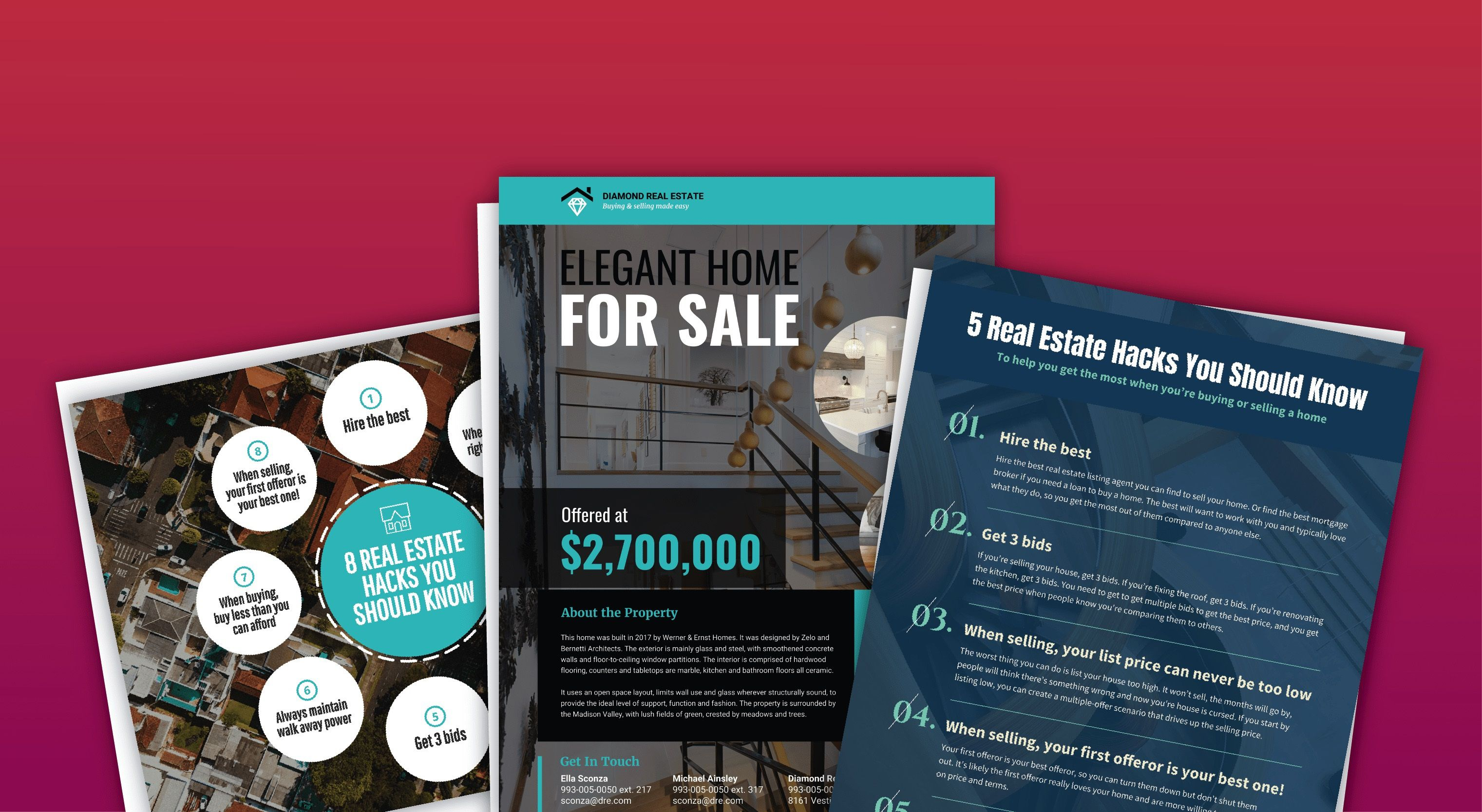 006 Simple Real Estate Marketing Video Template Highest Quality  TemplatesFull