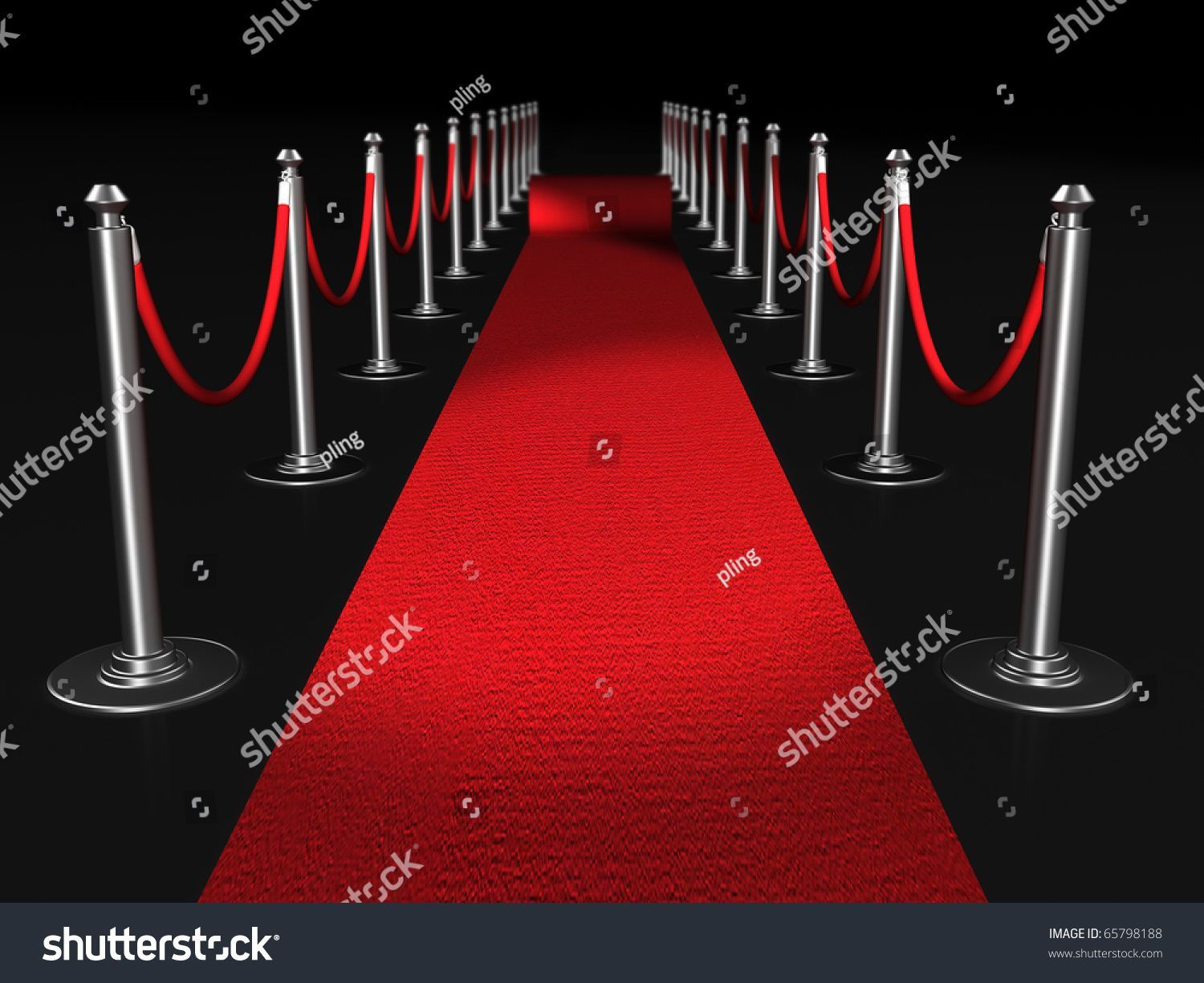 006 Simple Red Carpet Invitation Template Free High Definition  DownloadFull