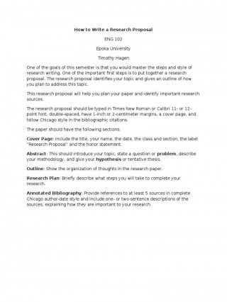 006 Simple Research Paper Proposal Example Chicago High Resolution 320