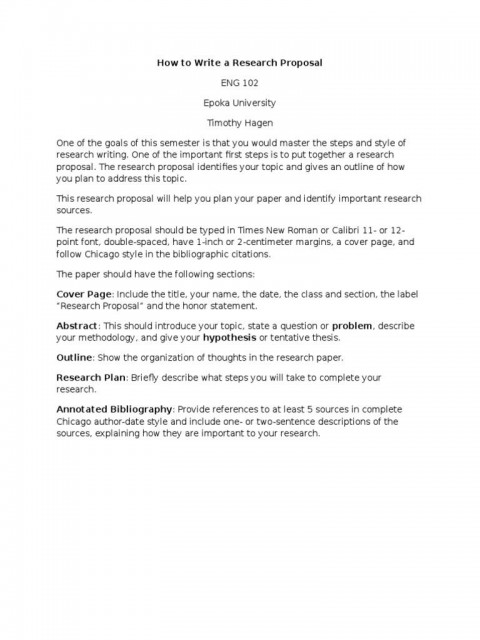006 Simple Research Paper Proposal Example Chicago High Resolution 480