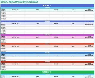 006 Simple Social Media Marketing Plan Template Doc Concept 320