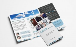 006 Simple Template For Trifold Brochure Sample  Tri Fold Indesign A4 Free In Word Download