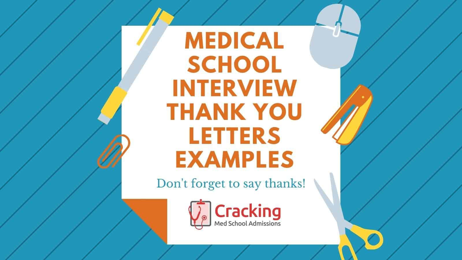006 Simple Thank You Note Template Medical School Interview Inspiration  Letter SampleFull