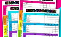 006 Singular Blood Sugar Log Printable Sheet Pdf Concept  Monthly