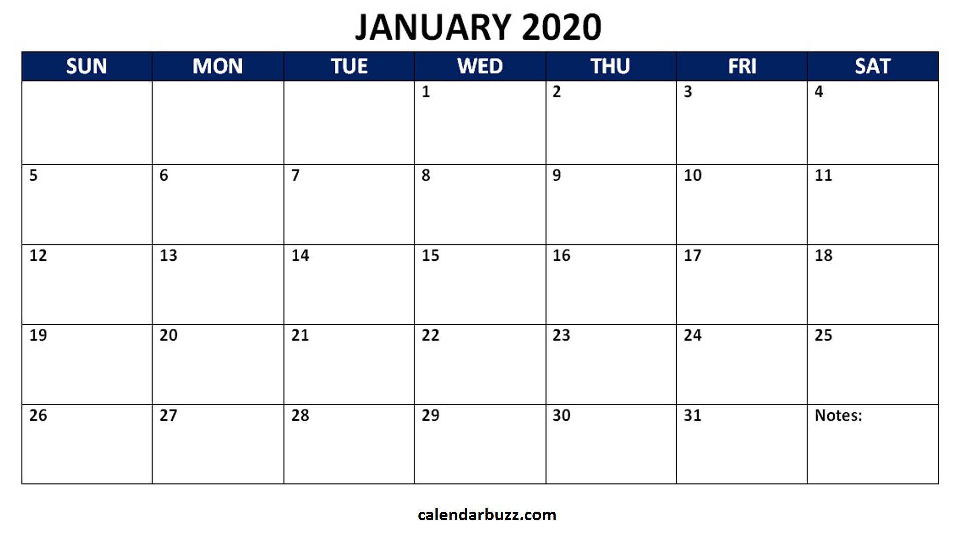 006 Singular Calendar 2020 Template Word High Resolution  Monthly Doc Free DownloadFull