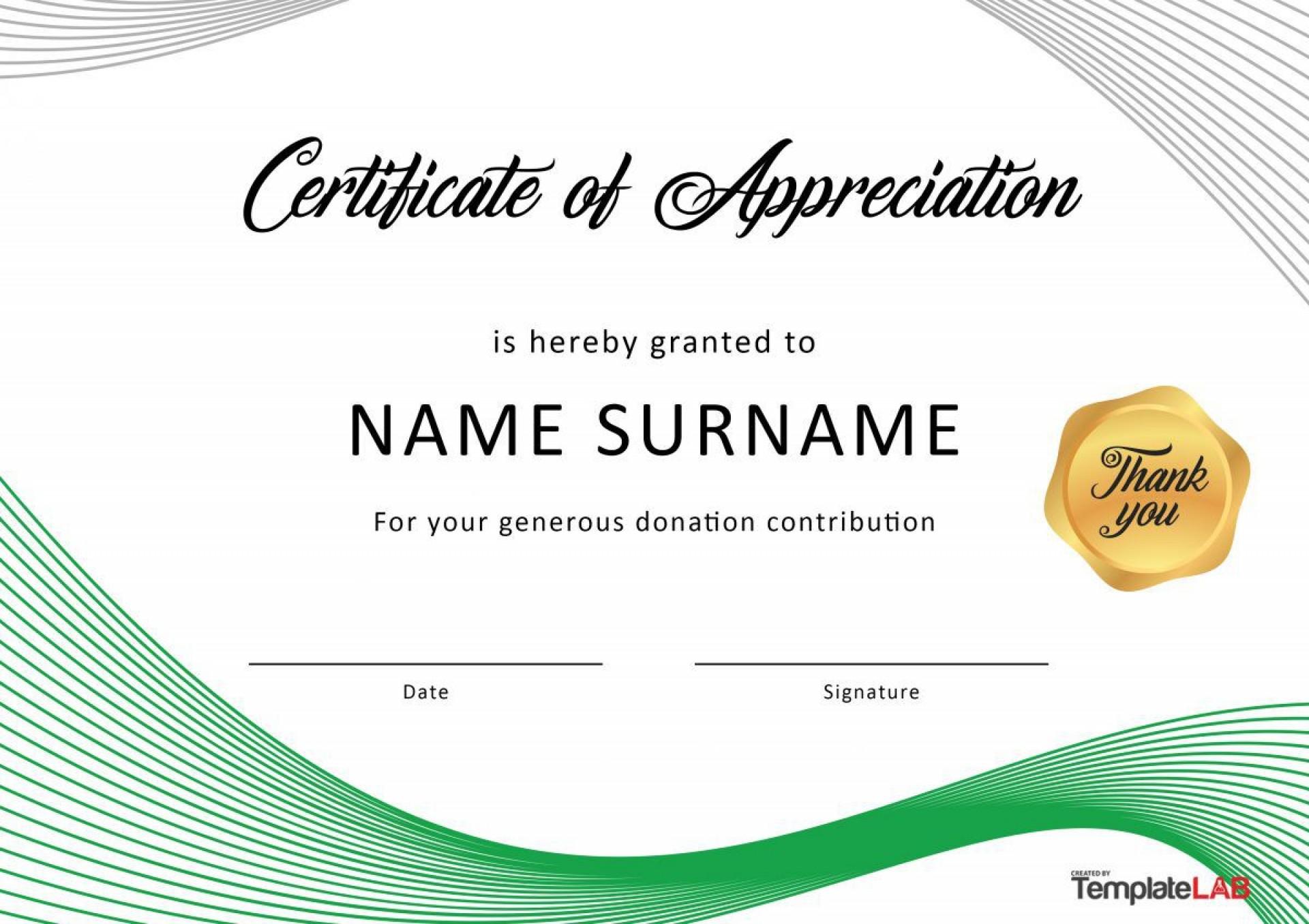 006 Singular Certificate Of Recognition Template Word Idea  Award Microsoft Free1920