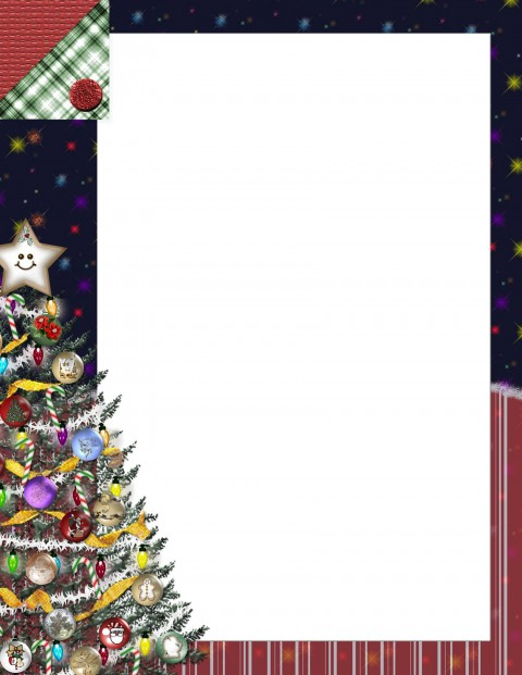 006 Singular Christma Stationery Template Word Free Highest Quality  Religiou For Downloadable480