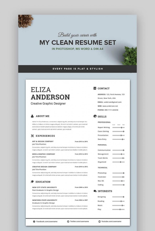006 Singular Eye Catching Resume Template Highest Quality  Microsoft Word Free Download MostLarge