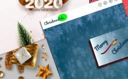 006 Singular Free Christma Newsletter Template Microsoft Word Sample