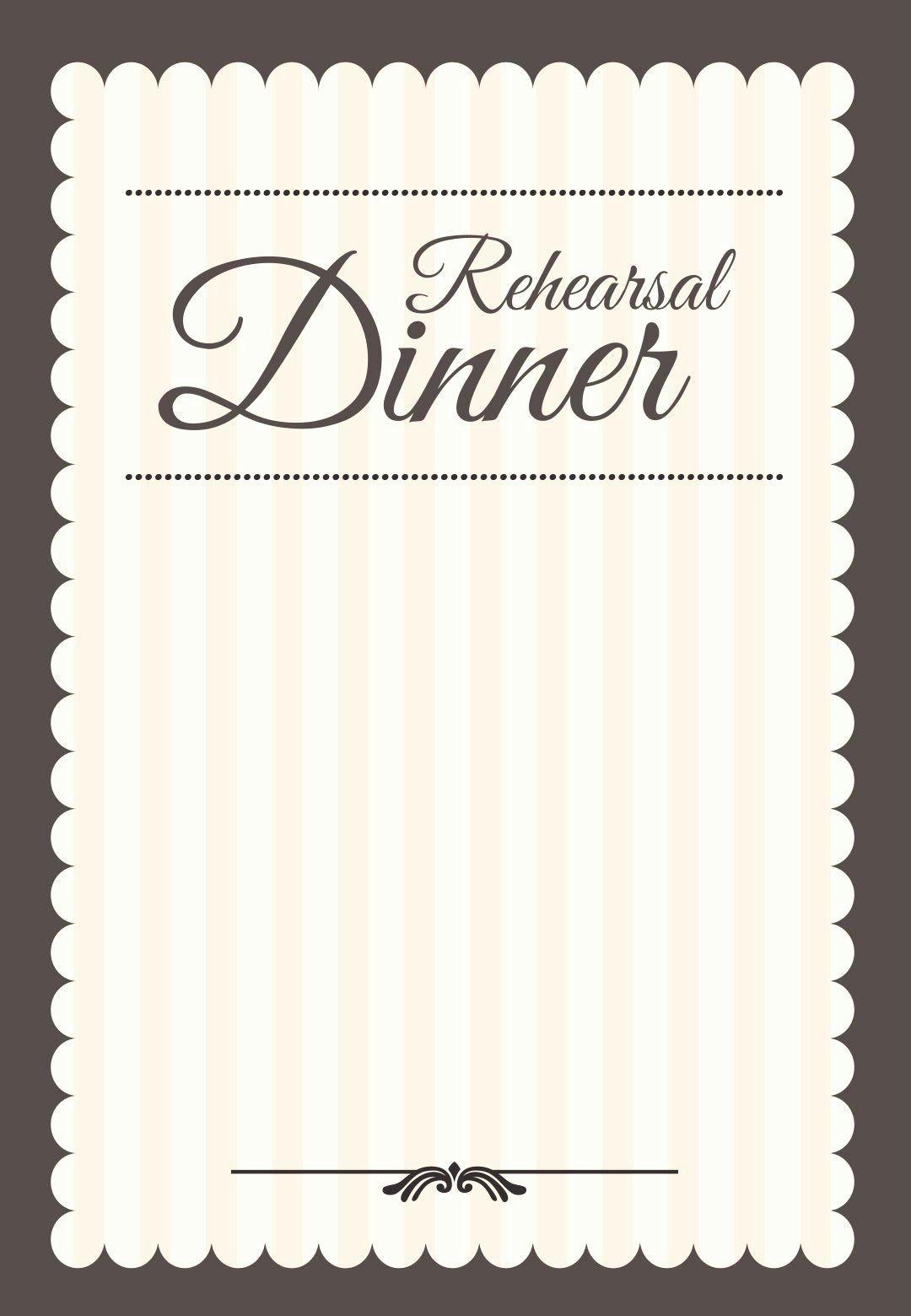 006 Singular Free Dinner Invitation Template High Resolution  Templates Rehearsal Printable Italian ThanksgivingFull