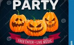 006 Singular Free Halloween Party Invitation Template Design  Templates Birthday For Word
