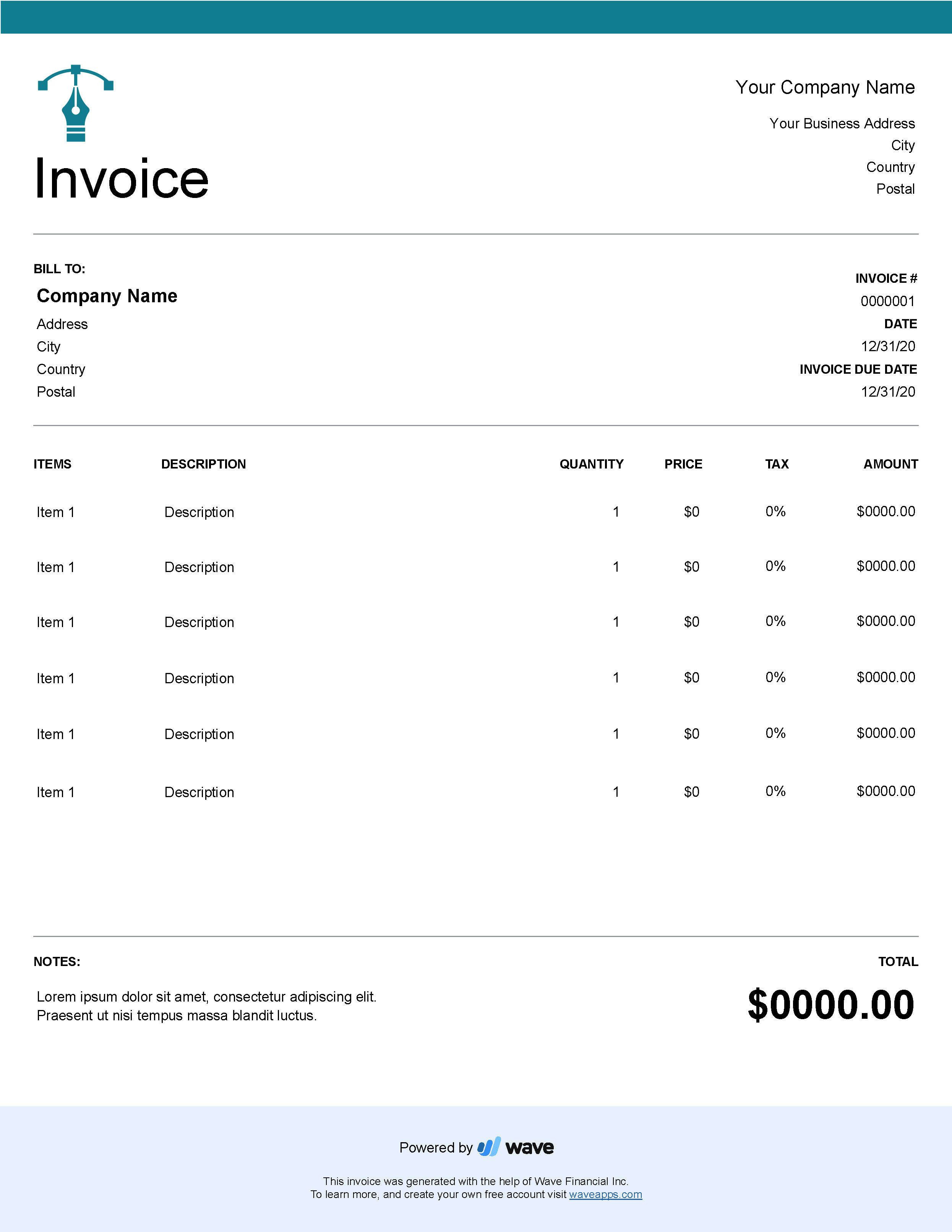 006 Singular Freelance Creative Invoice Template Highest Quality  Graphic Designer Uk SimpleFull