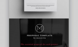 006 Singular Graphic Design Proposal Sample Inspiration  Pdf Free Template Indesign