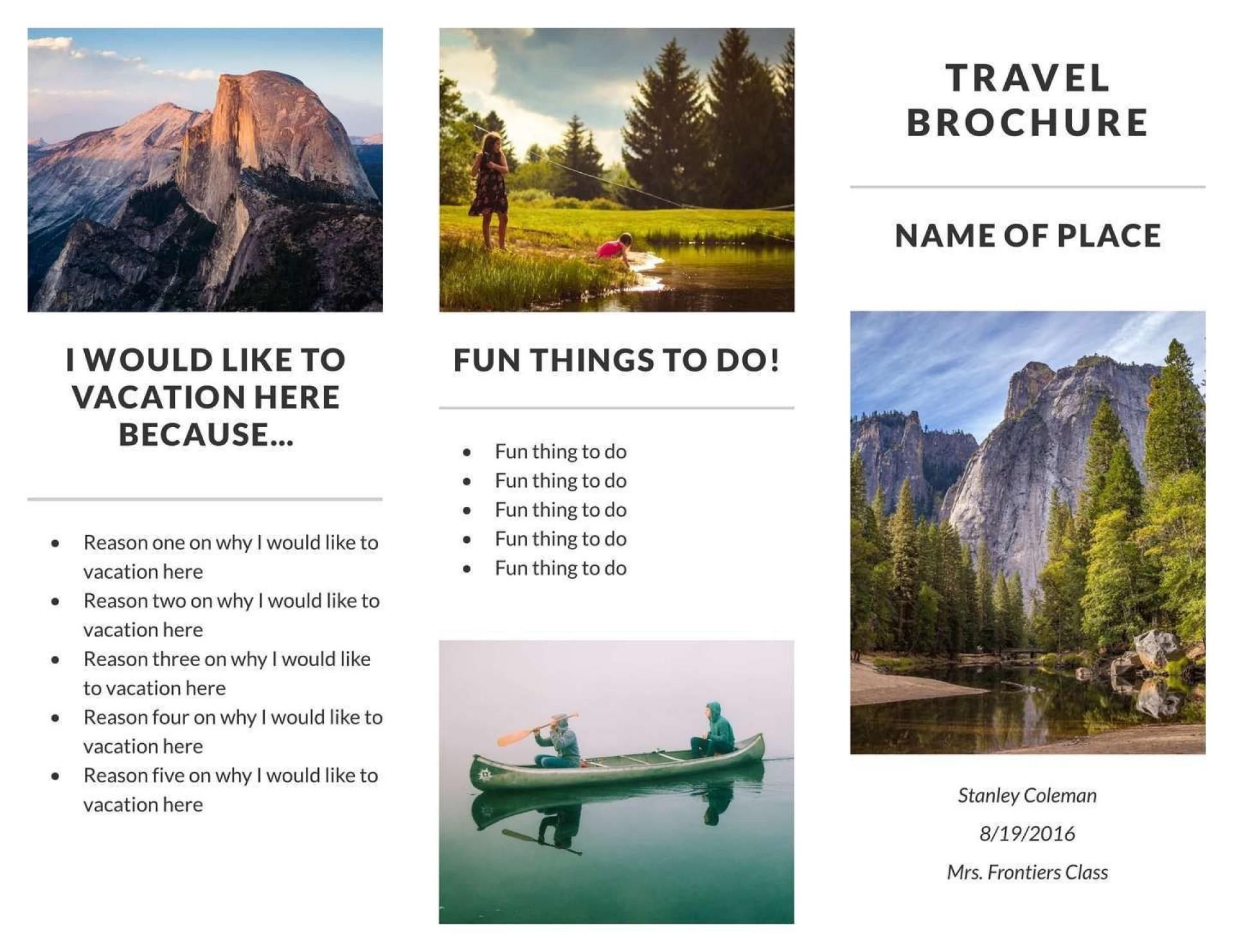 006 Singular M Word Travel Brochure Template Highest Quality  Microsoft Free1920
