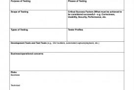 006 Singular Simple Test Plan Template Design  Software Uat