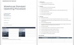 006 Singular Standard Operating Procedure Template Word Inspiration  Example Free Microsoft Download